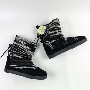 Toms Black Suede Nepal Boot H6514870